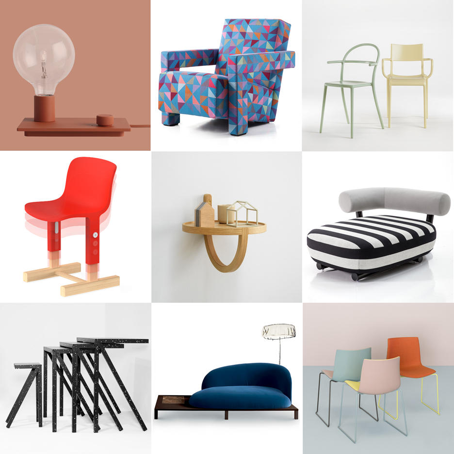 25 furniture and lighting designs