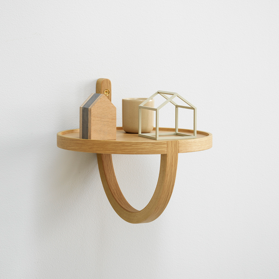 Archetto shelf by Note Design Studio for Fogia