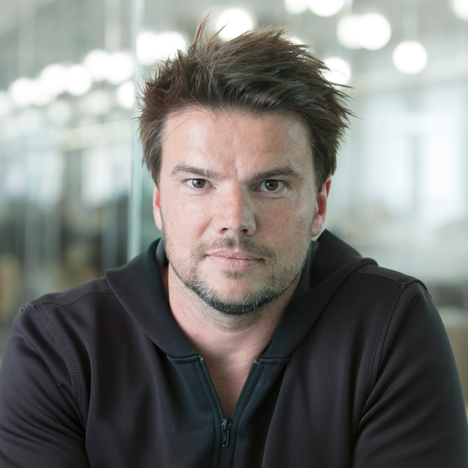 Bjarke Ingels portrait by Dezeen