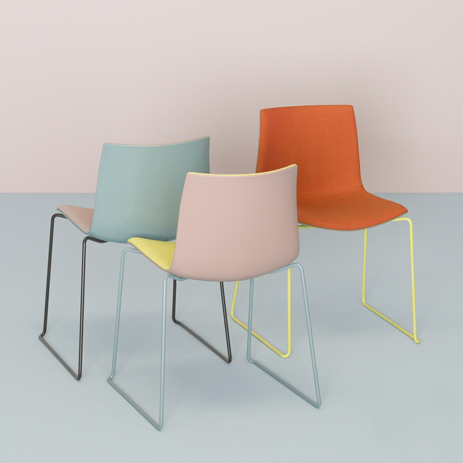 Catifa chairs by Lievore Altherr Molina for Arper