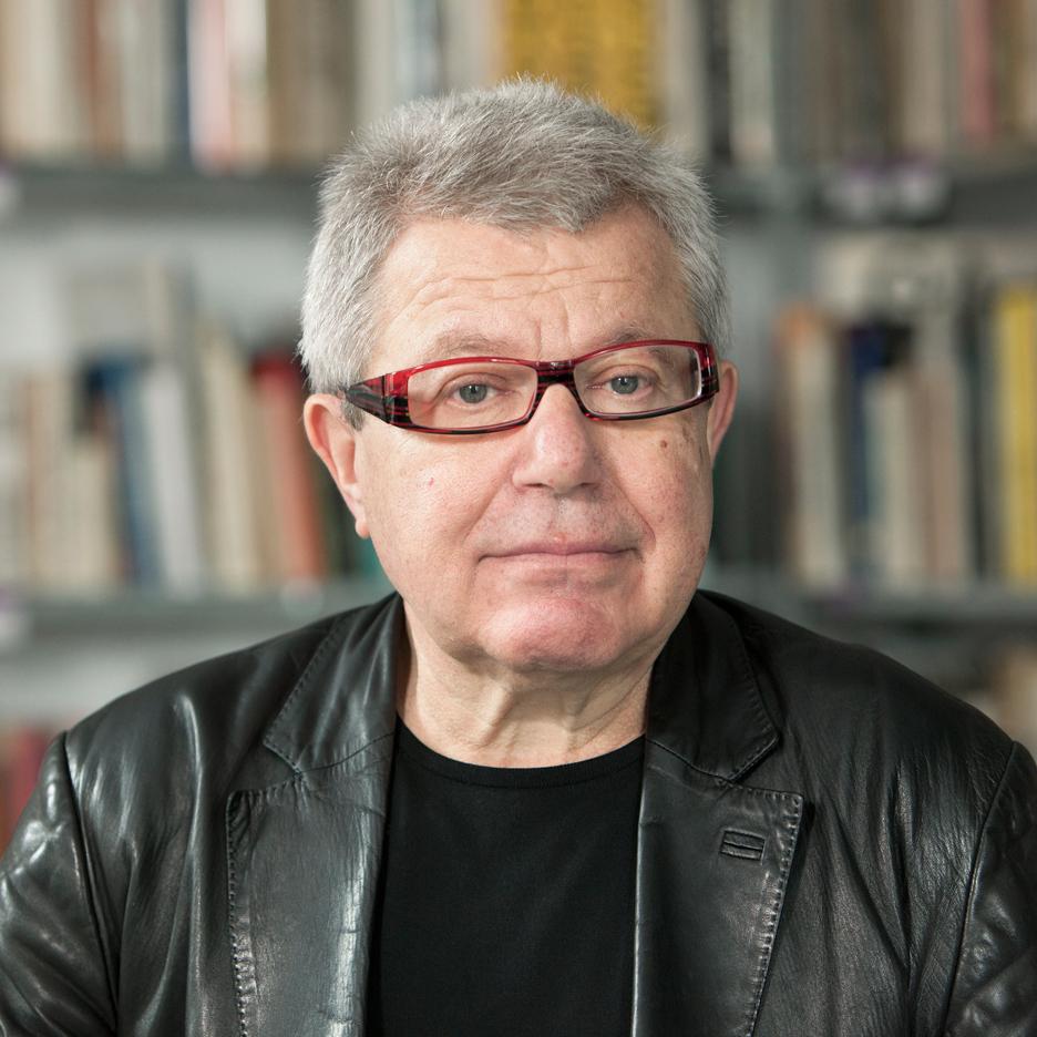 Daniel Libeskind portrait by Dezeen