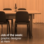 Job of the week: graphic designer at Hem