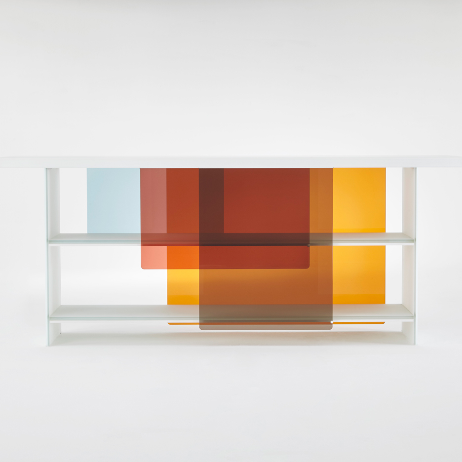 Layers by Nendo for Glas Italia
