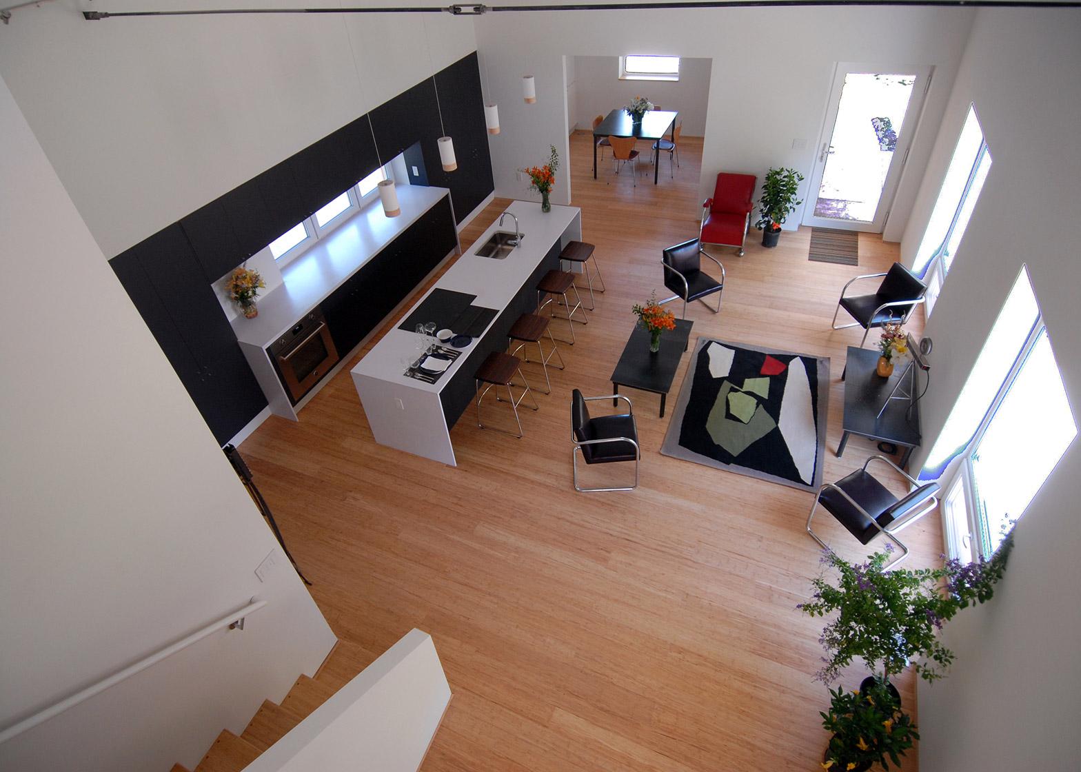 Studio 804 builds Kansas home designed to achieve net-zero energy consumption