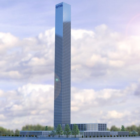 New Shanghai skyscraper set to become world's highest elevator test tower