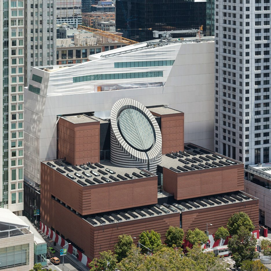 SFMOMA museum extension by Snøhetta in San Francisco, USA