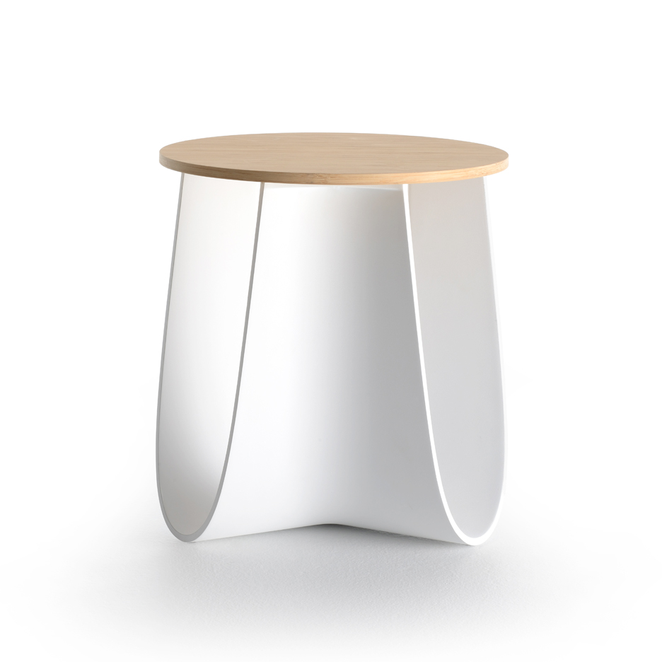 Sag stool by Nendo for MDF Italia