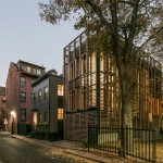 SAS Designbuild combines two facade styles for an urban Boston home