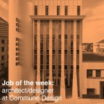 US job of the week: architect/designer at Commune Design