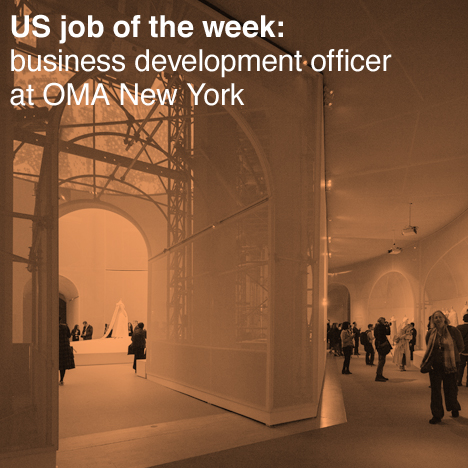 Dezeen Jobs US job of the week