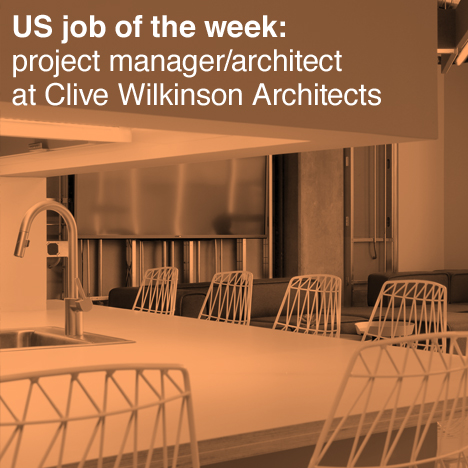 Dezeen US job of the week