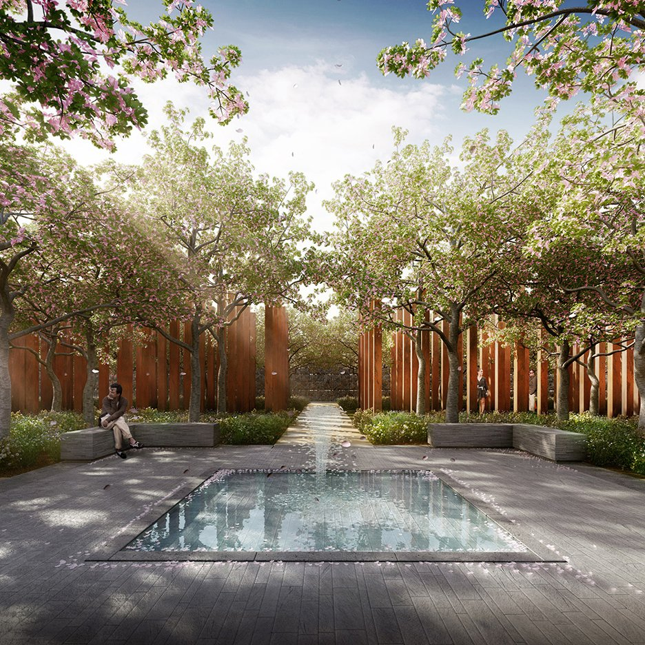 Crematorium architecture and design dezeen for Landscape design jobs sydney