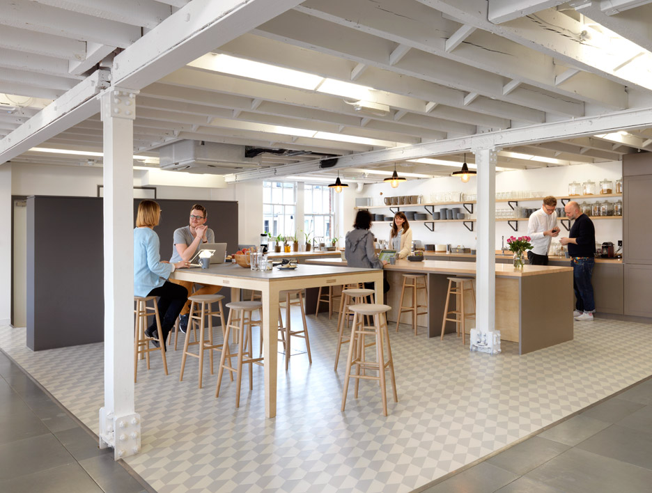The Airbnb office in London by Threefold
