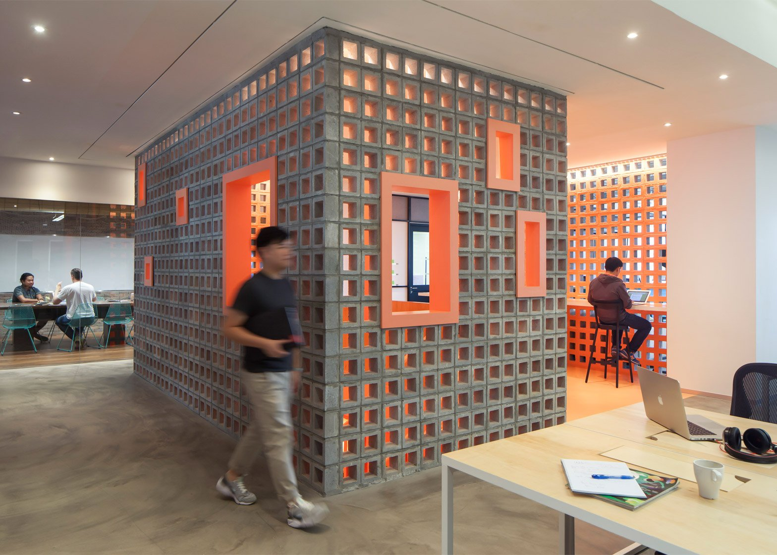 ... The Airbnb Office In Singapore By FARM