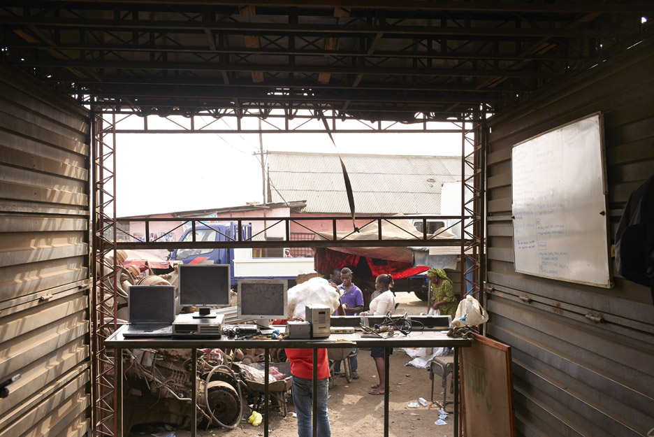 AMP Spacecraft network of makerspaces proposed for Agbogbloshie e-waste dump in Ghana