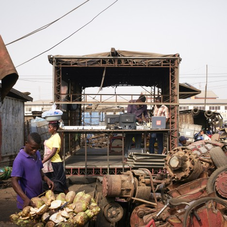 Agbogbloshie Makerspace Platform creates mobile workshops for world's largest e-waste dump