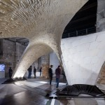Armadillo Vault is a pioneering stone structure that supports itself without any glue
