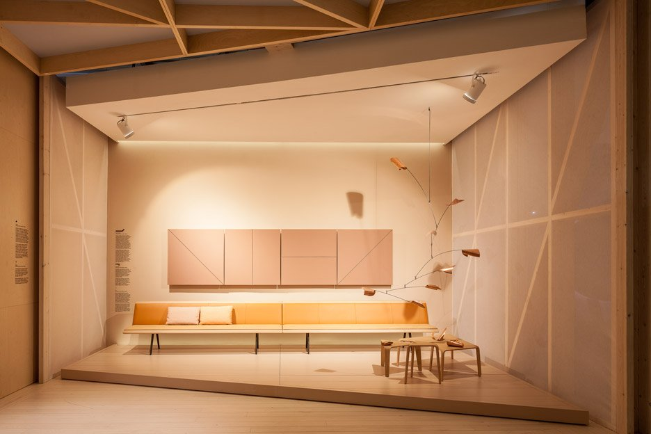 Arper furniture exhibition design for Milan Design Week 2016