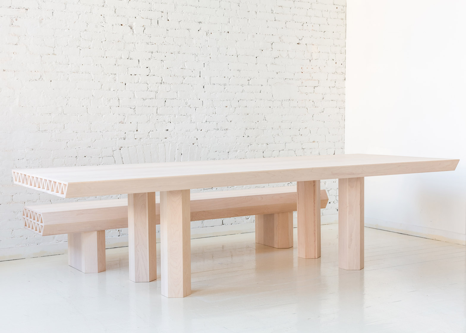 Qualities of Material furniture by Fort Standard at New York Design Week 2016