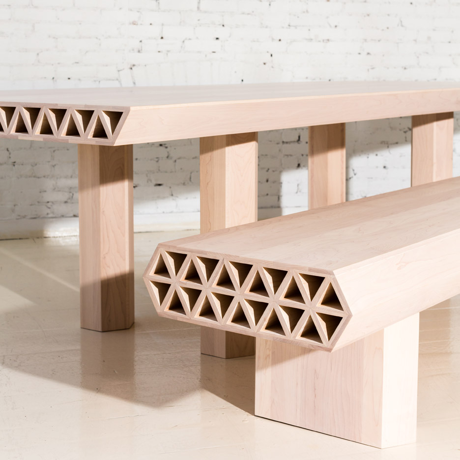 New Design Furniture fort standard creates material-focused furniture collection