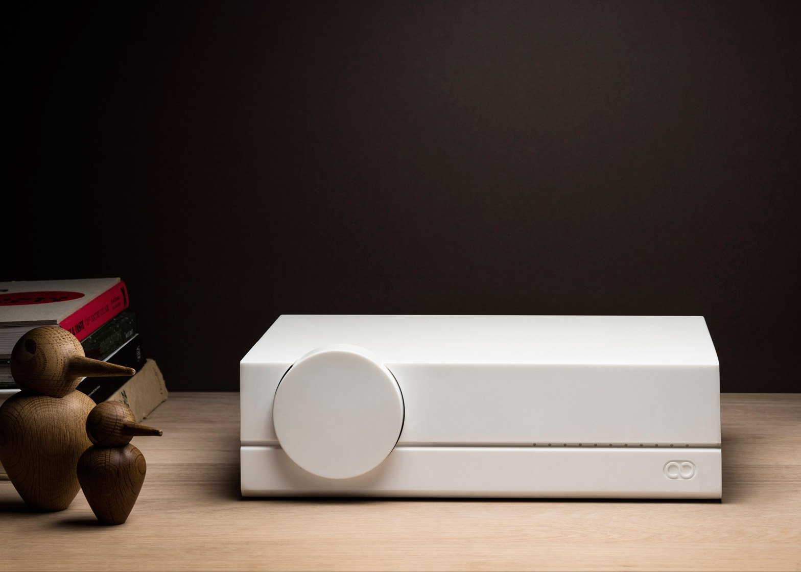 Audioberry Junior amplifier designed by Paul Crofts Studio