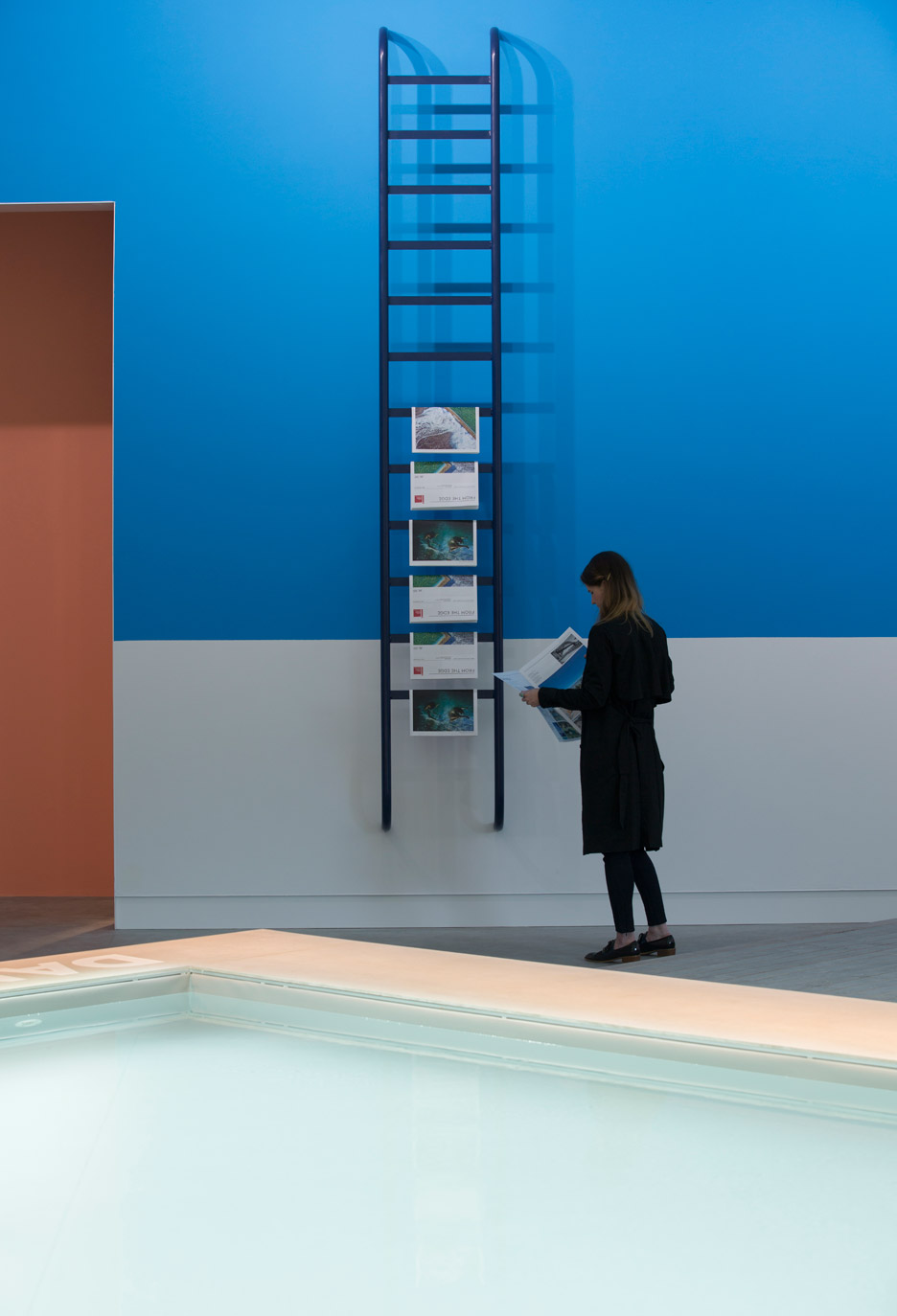 The Pool is the Australian exhibition curated by Aileen Sage Architects for the Venice Architecture Biennale 2016