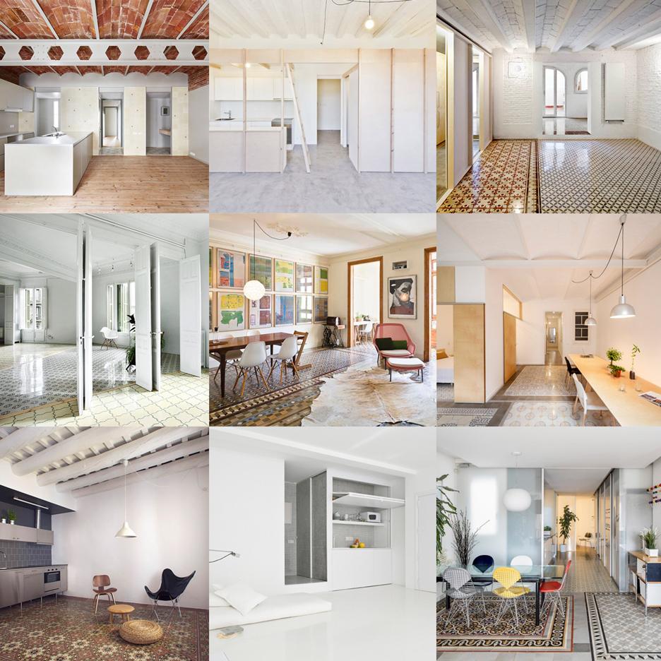 barcelona apartments interior design | dezeen