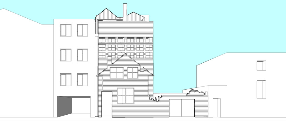 FAT's Blue House set for rooftop extension by Sean Griffiths