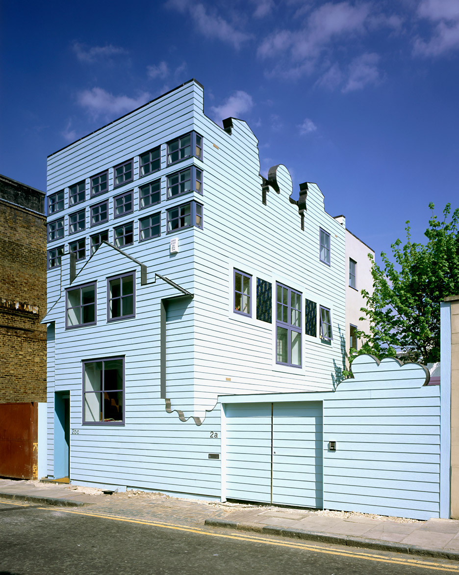Fat S Blue House Set For Rooftop Extension By Sean Griffiths