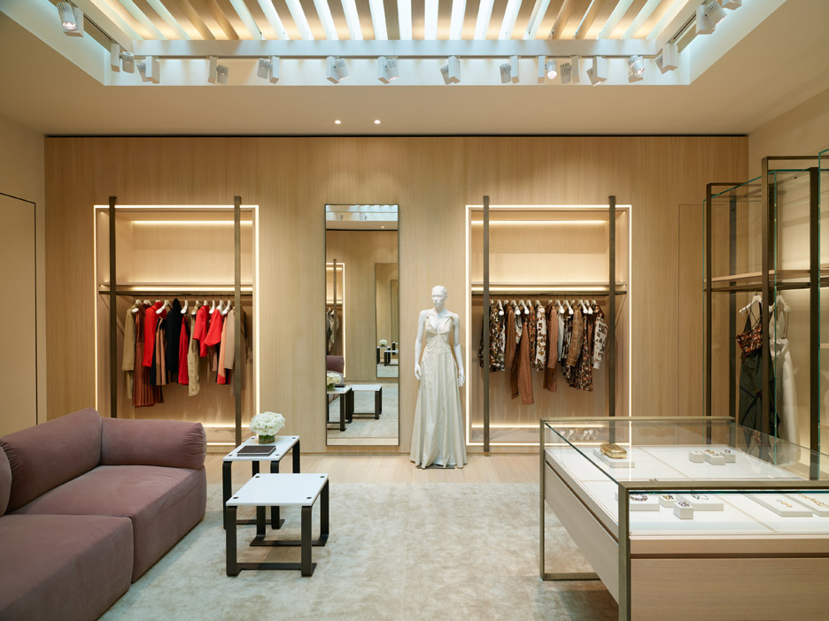 Bottega Veneta Beverly Hills store features arched openings
