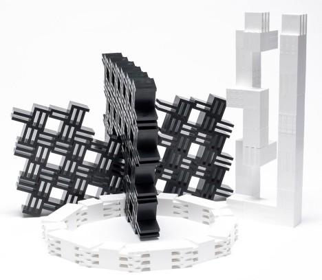 interlocking boulding blocks offer limitless possibilities