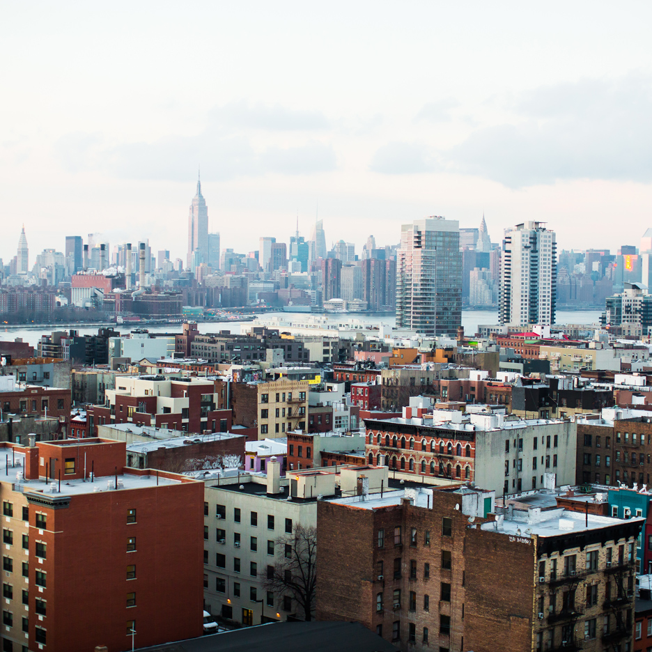 Brooklyn skyline, photographed by Thomas Hawk