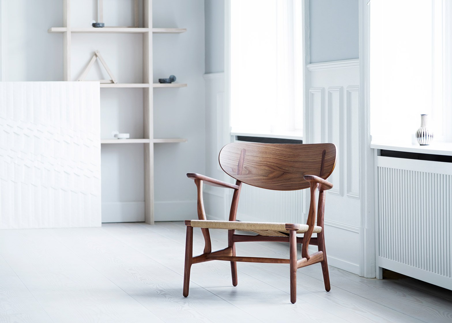 Carl Hansen Son Reissues Hans J Wegner S Ch22 Lounge Chair