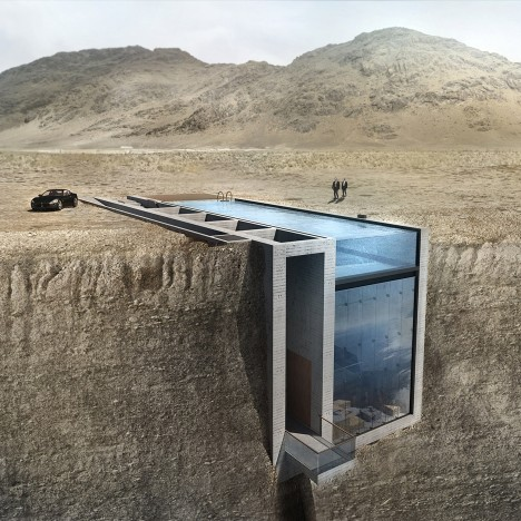 OPA finds backer for cliffside residence sunken into Lebanese mountain