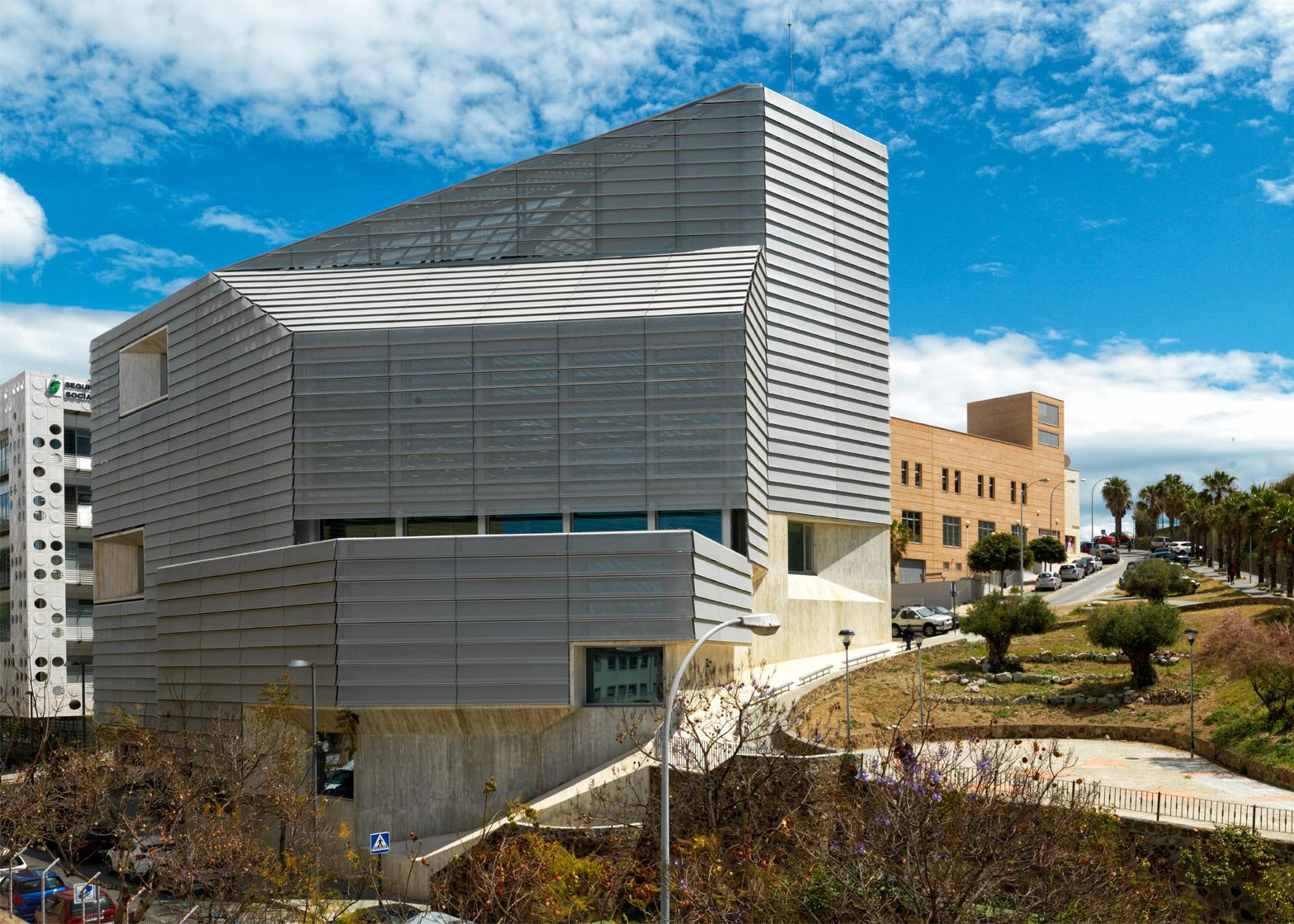 Ceuta Public Library, Ceuta, Spain; by Paredes Pedrosa Arquitectos