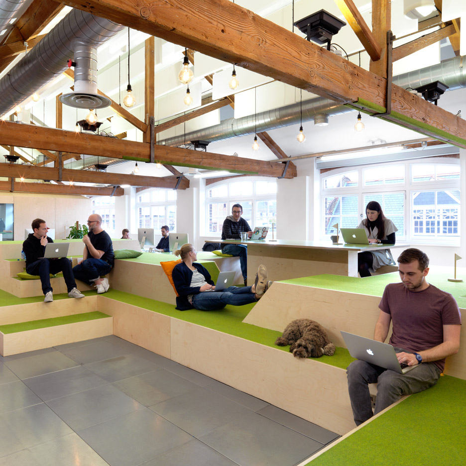 Five innovative office designs from Clerkenwell Design Week