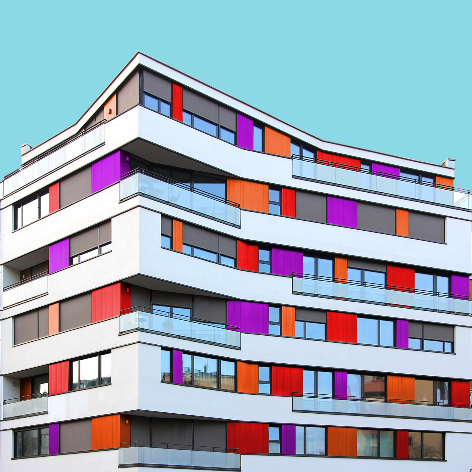 architectural essay artificial topography rdquo by fujiki  paul eis gives colourful makeover to german city architecture colourful berlin photography architecture essay by paul