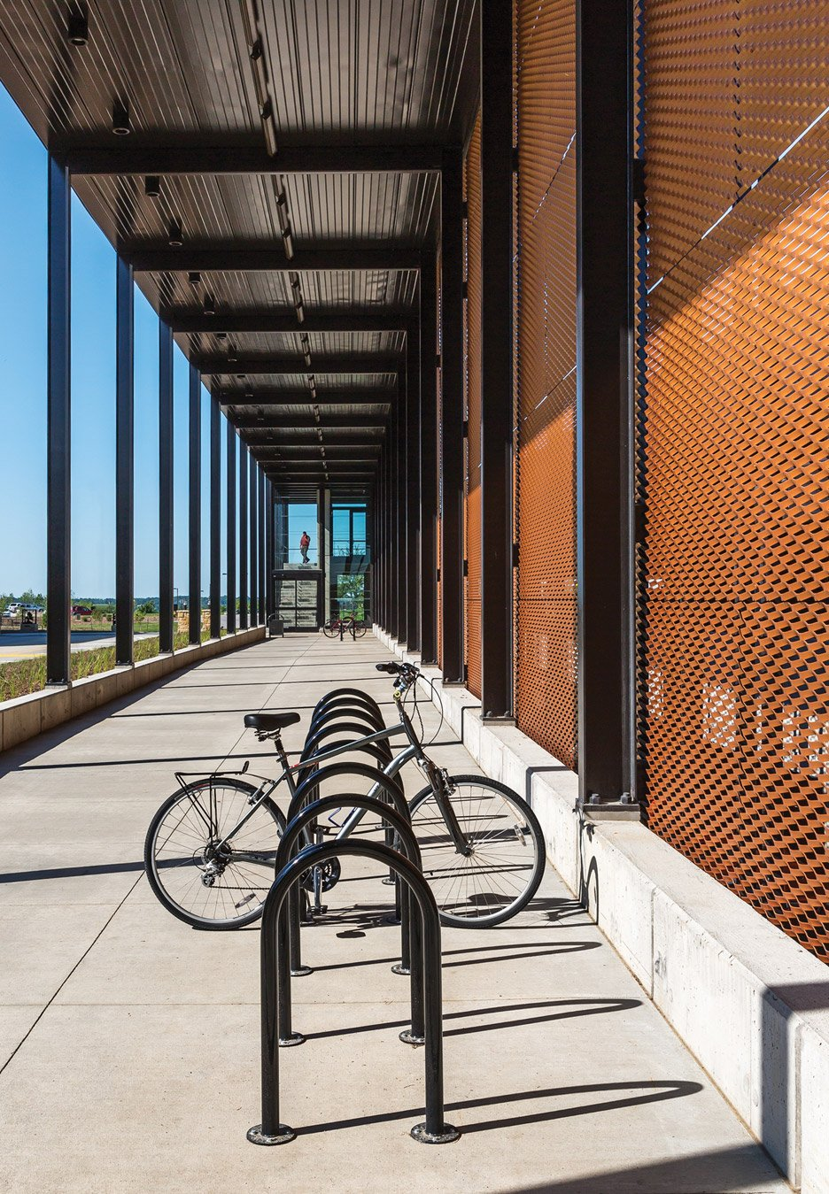 Campus Parking Facility by Substance Architecture in West Des Moines, Iowa.