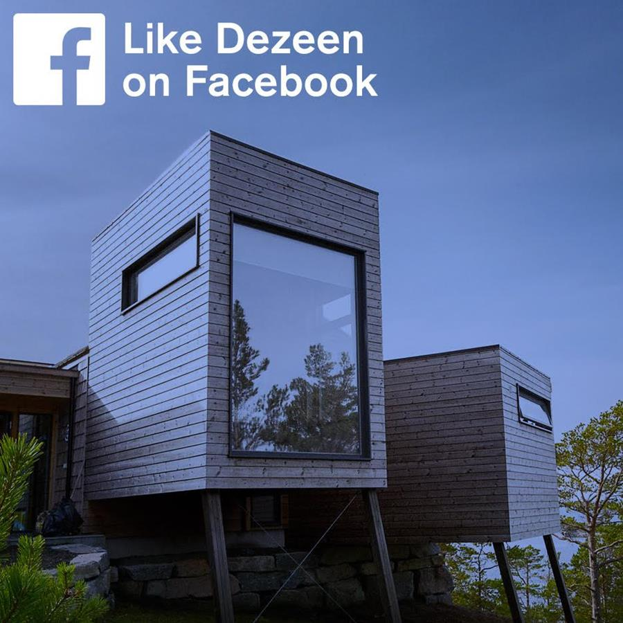 Follow Dezeen on Facebook