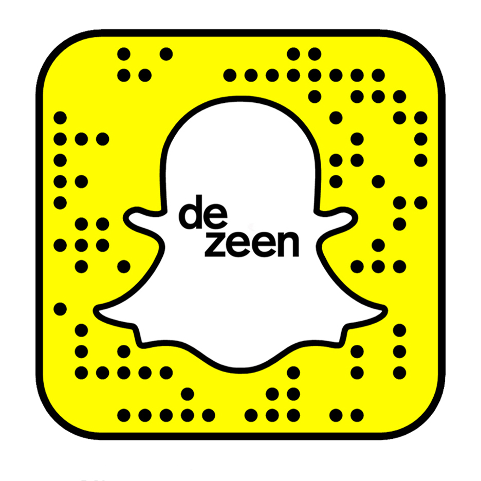 Add Dezeen on Snapchat for irreverent studio updates and more