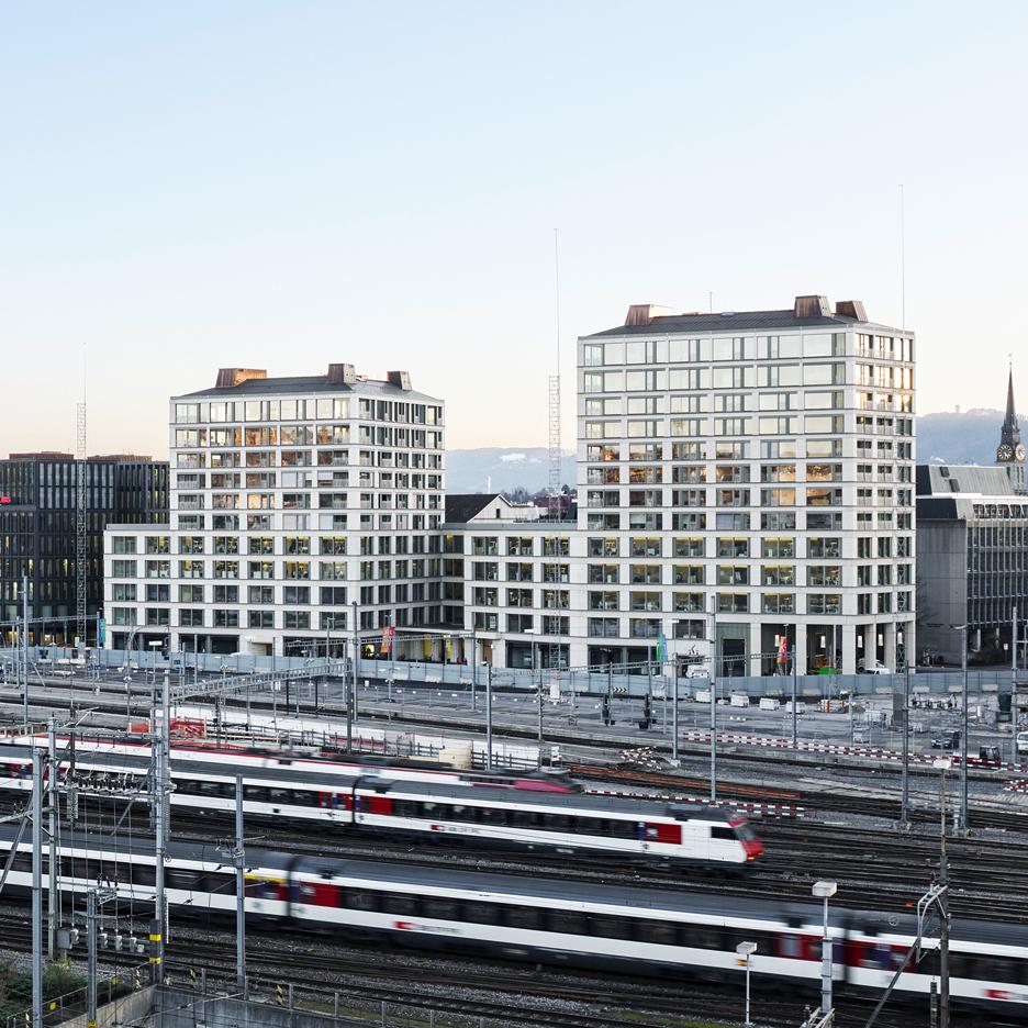 Europaallee Baufeld E, Zurich, Switzerland, by Caruso St John Architects and Bosshard Vaquer Architekten