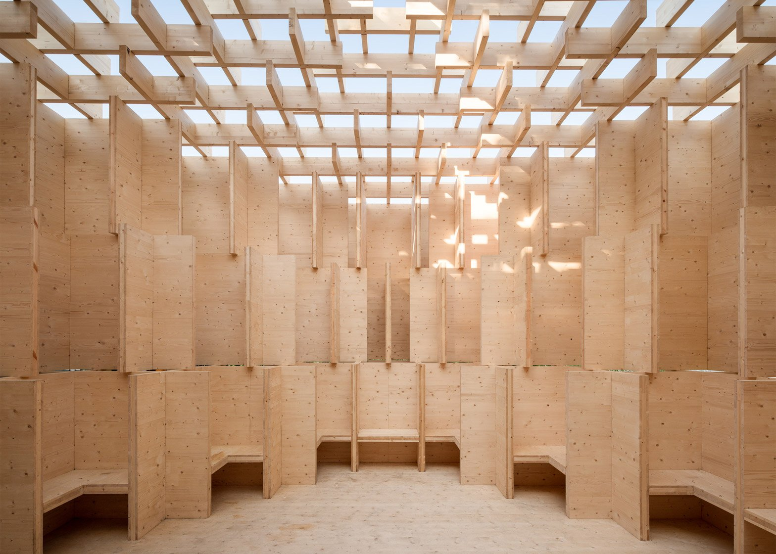 Forest of Venice installation at the Venice Architectural Biennale 2016