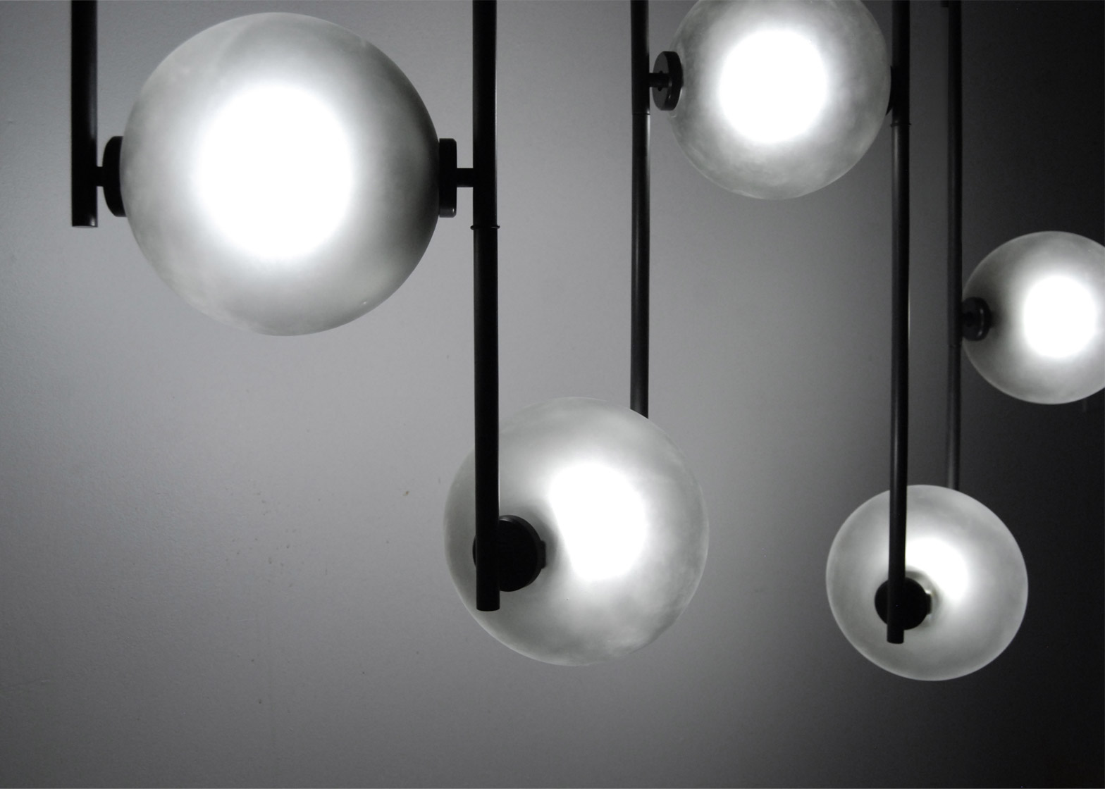 Future Perfect lighting by John Hogan for New York design week 2016