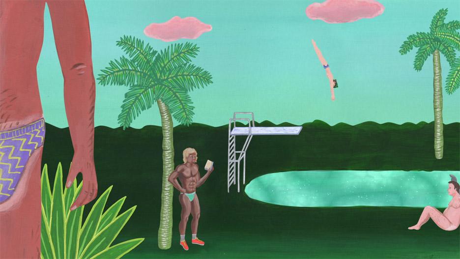 Gablé Tropicool music video by Marie Larrivé and Lucas Malbrun