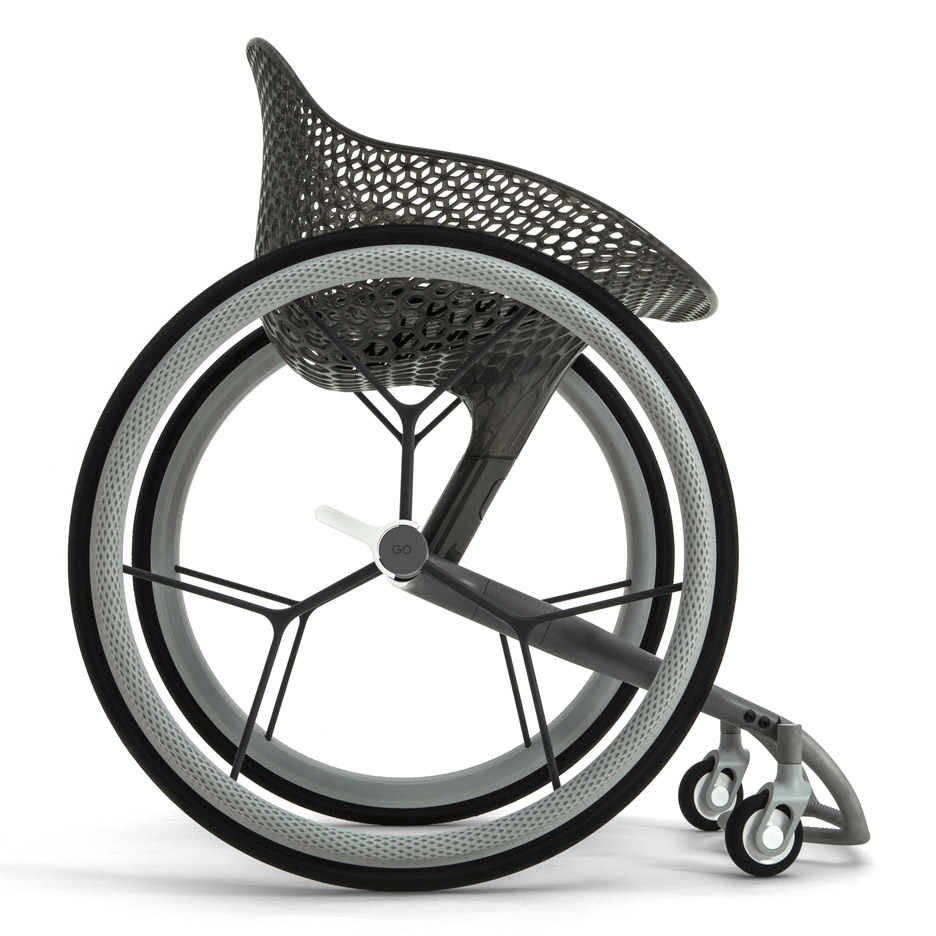 Go wheelchair by Benjamin Hubert's Layer