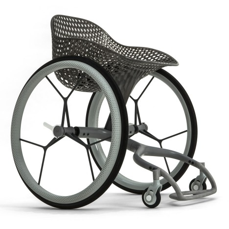 Benjamin Hubert's 3D-printed wheelchair to launch during Clerkenwell Design Week