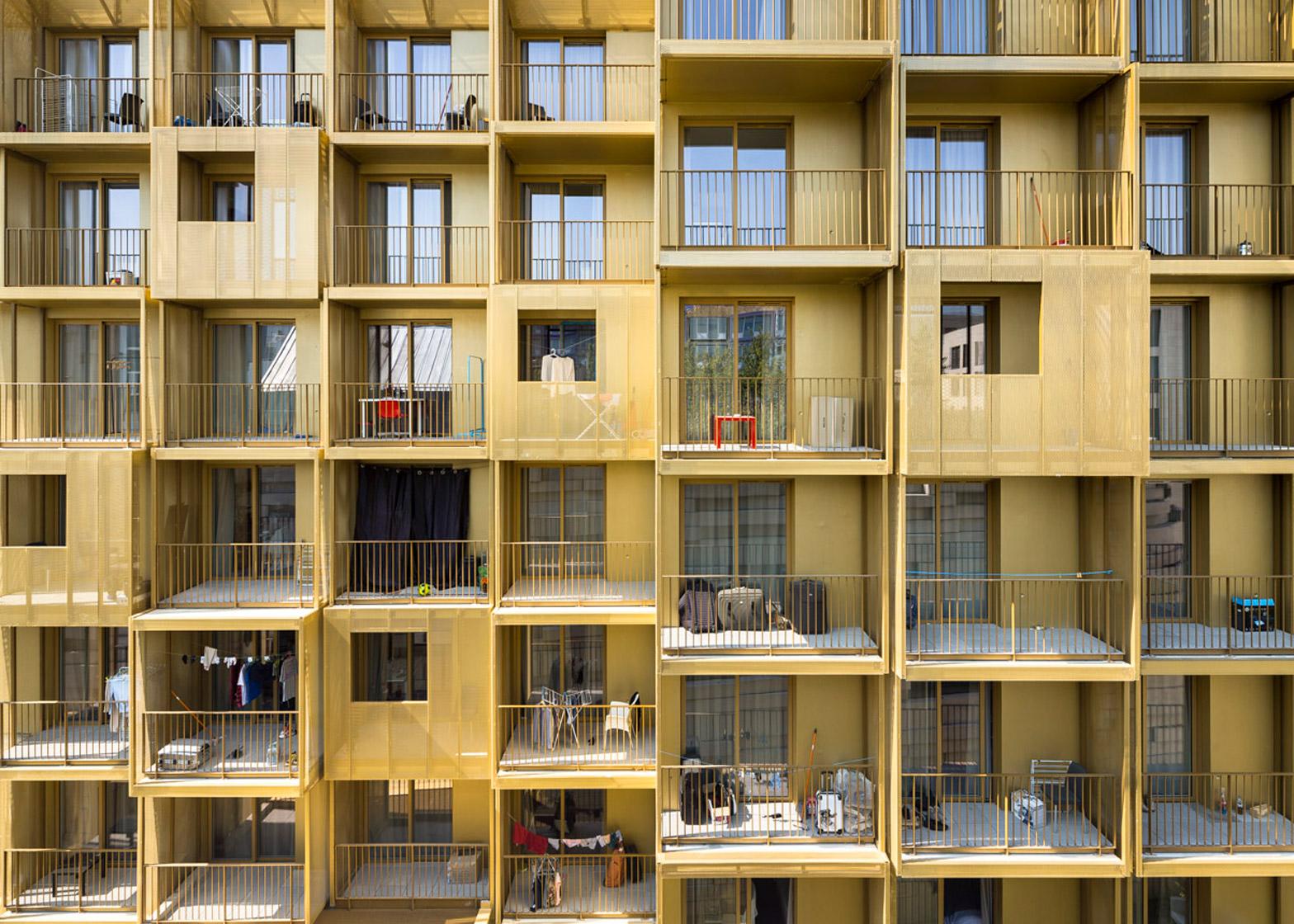 Golden Cube by Hamonic+Masson & Associés