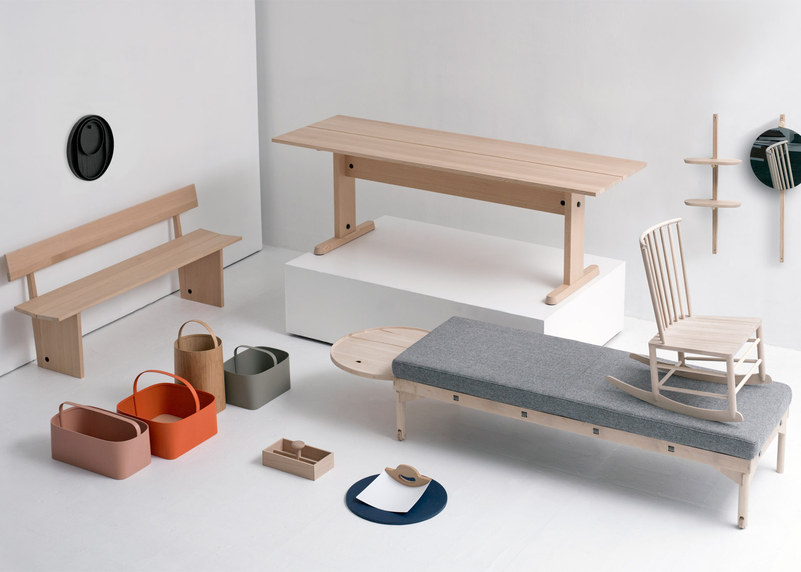 Furniture Design Exhibition designers reinterpret shaker artefacts for new york exhibition