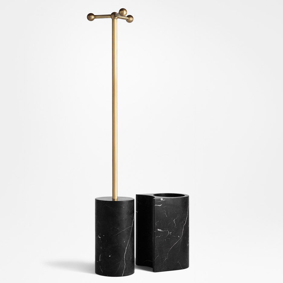 Hat tree and umbrella stand by Apparatus