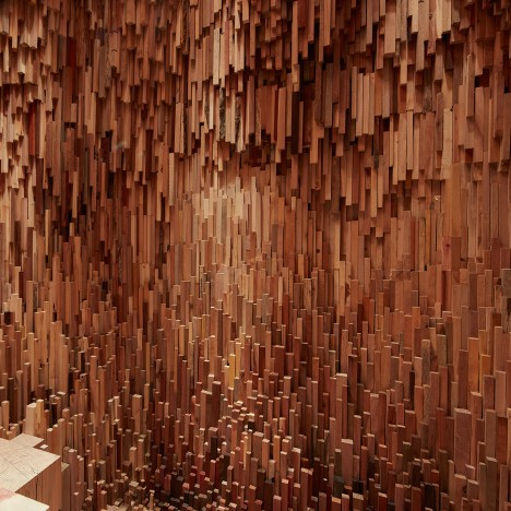 Hollow installation by Zeller & Moye and Katie Paterson brings together 10,000 tree species